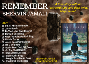 Remember Updated Blog Tour Poster